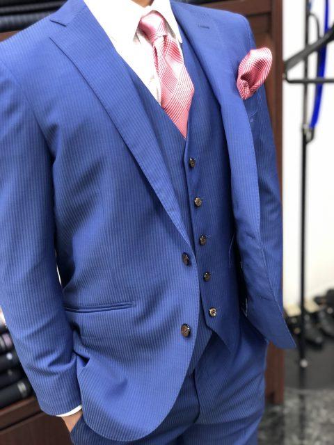 ブルーオーダースーツ