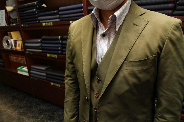 グリーンスーツ