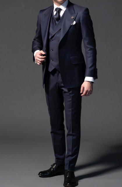 トムフォード型スーツ