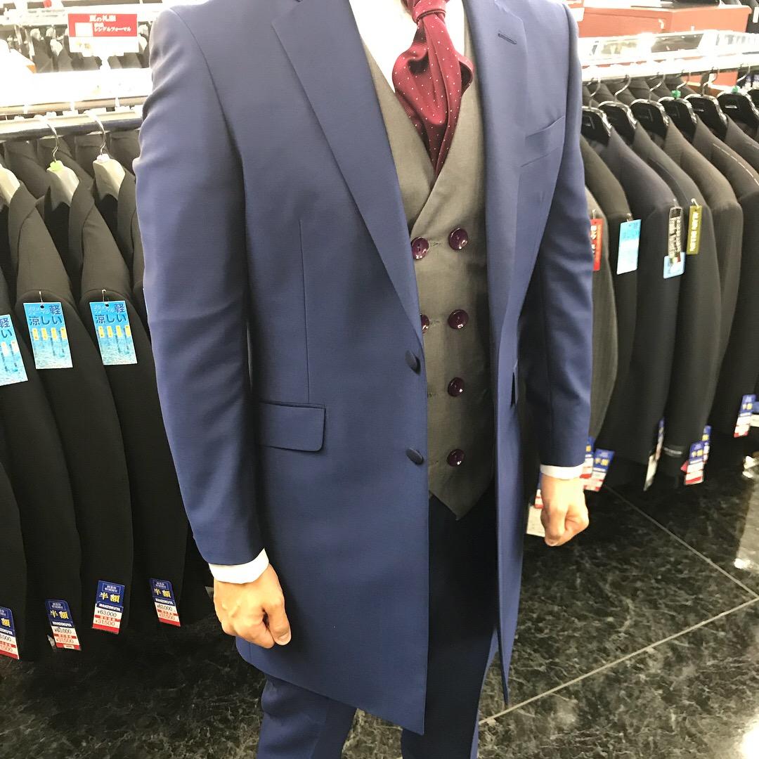 ブルーフロックコート